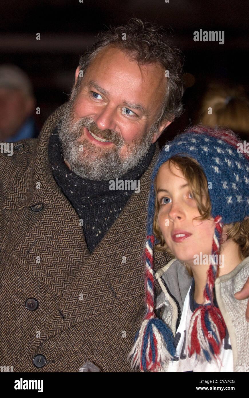 Liphook Carnival, Downton Abbey actor Hugh Bonneville in attendance, 27.10.2012. - Stock Image