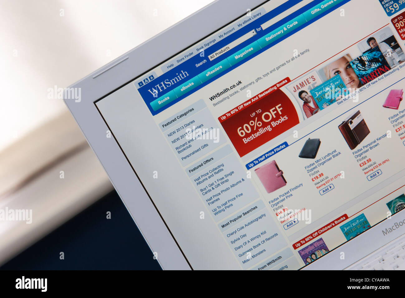 Stationary shopping stock photos stationary shopping stock images a web page from the website of uk high street retailer wh smith is photographed being solutioingenieria Choice Image