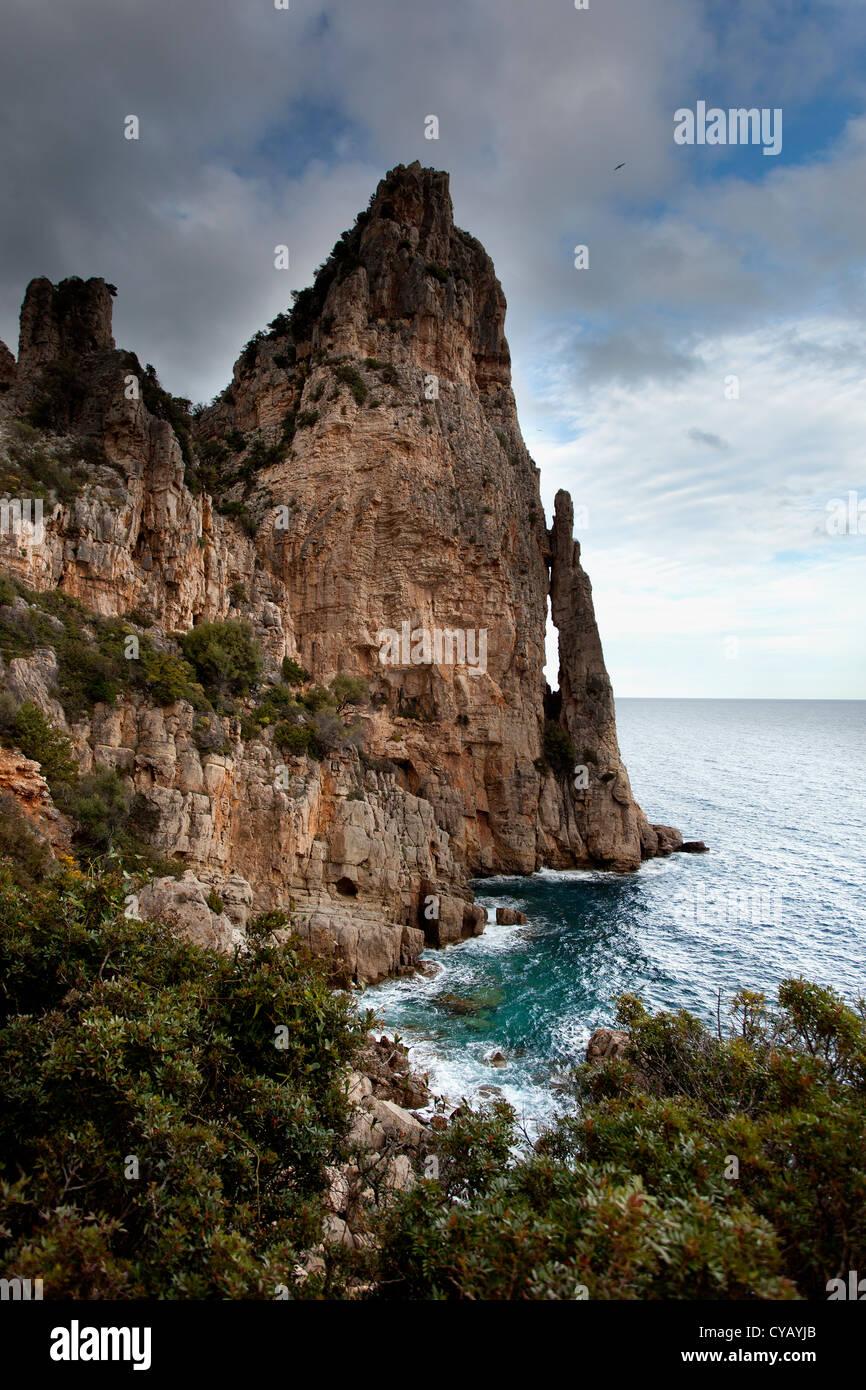 Sardinian sea. - Stock Image