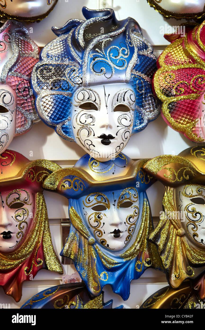 Venice Carnival Mask, Italy Venice, Veneto, Italy, Europe - Stock Image