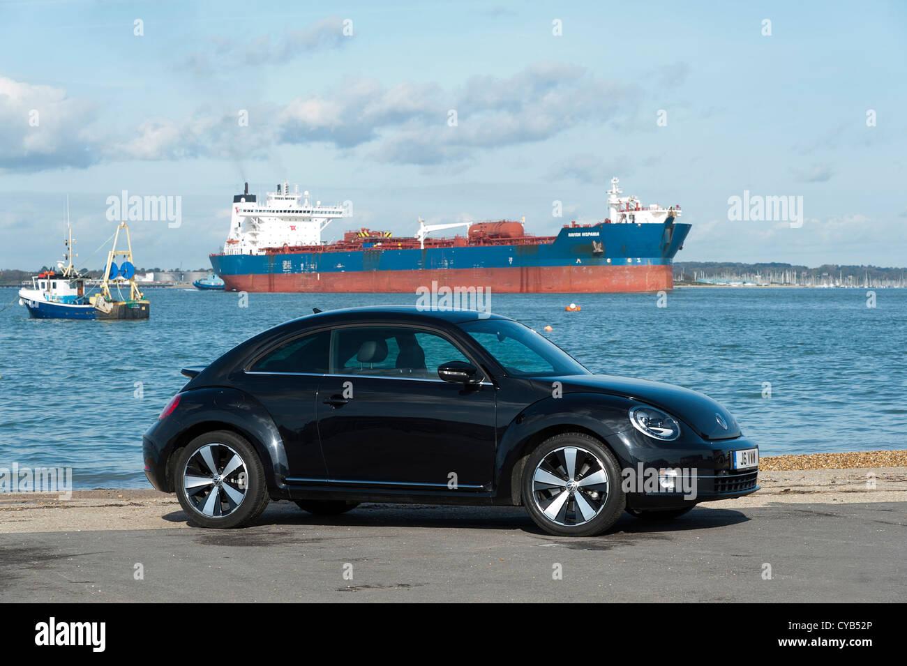 2012 Volkswagen Beetle Stock Photo
