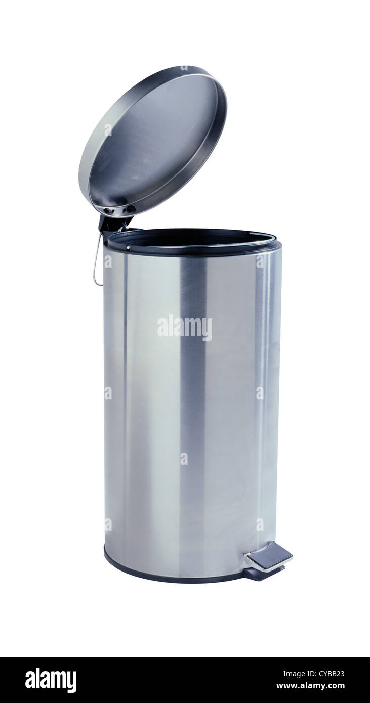 Trash can - Stock Image