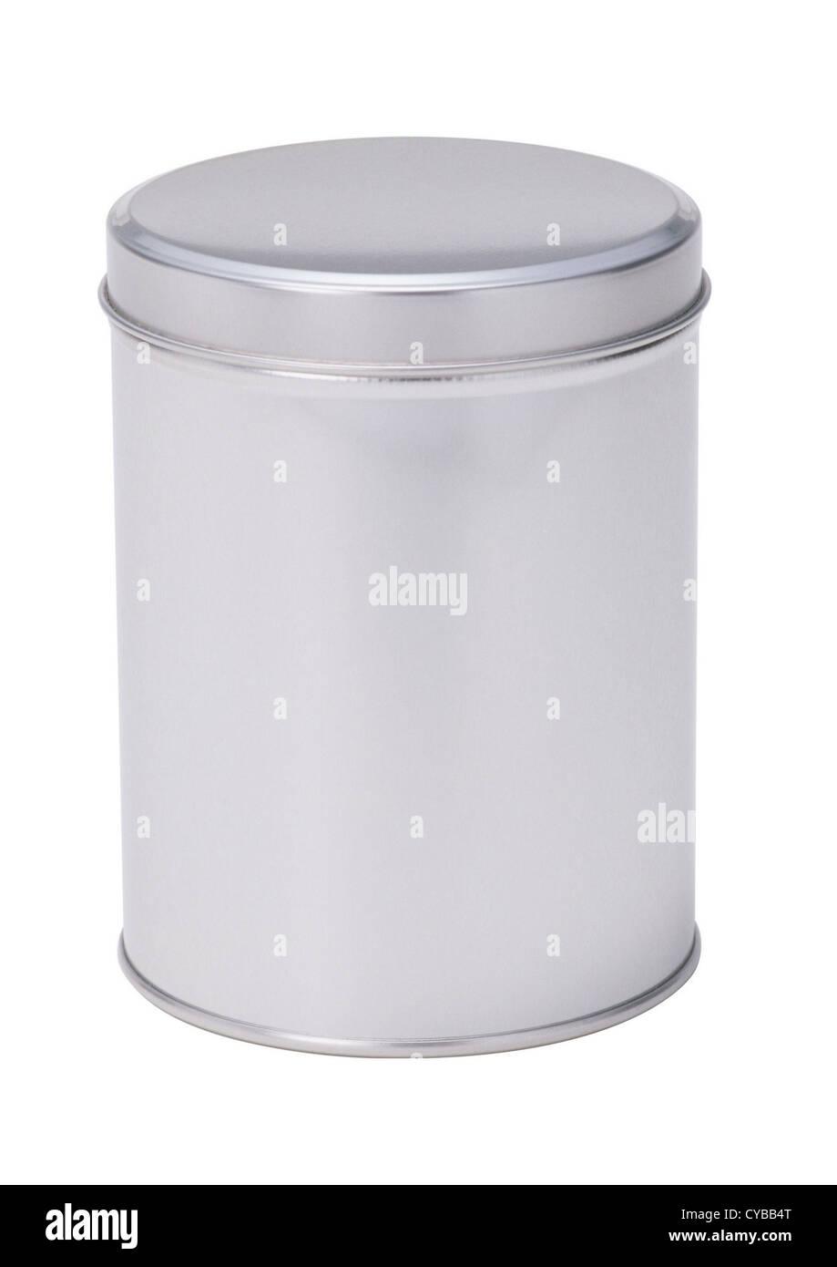 Tin metal can - Stock Image