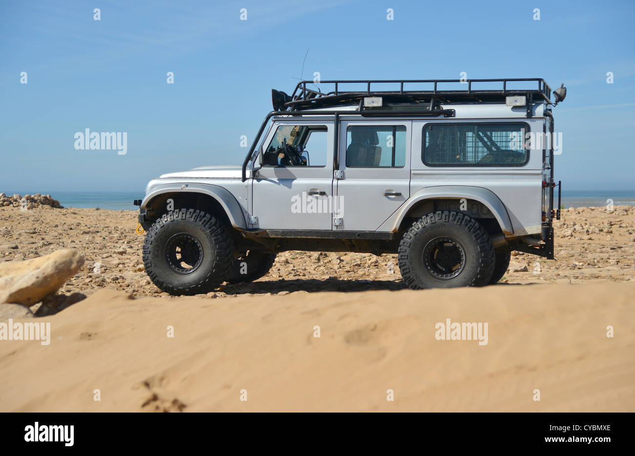 Off road expedition prepared 2012 Land Rover Defender 110 ...