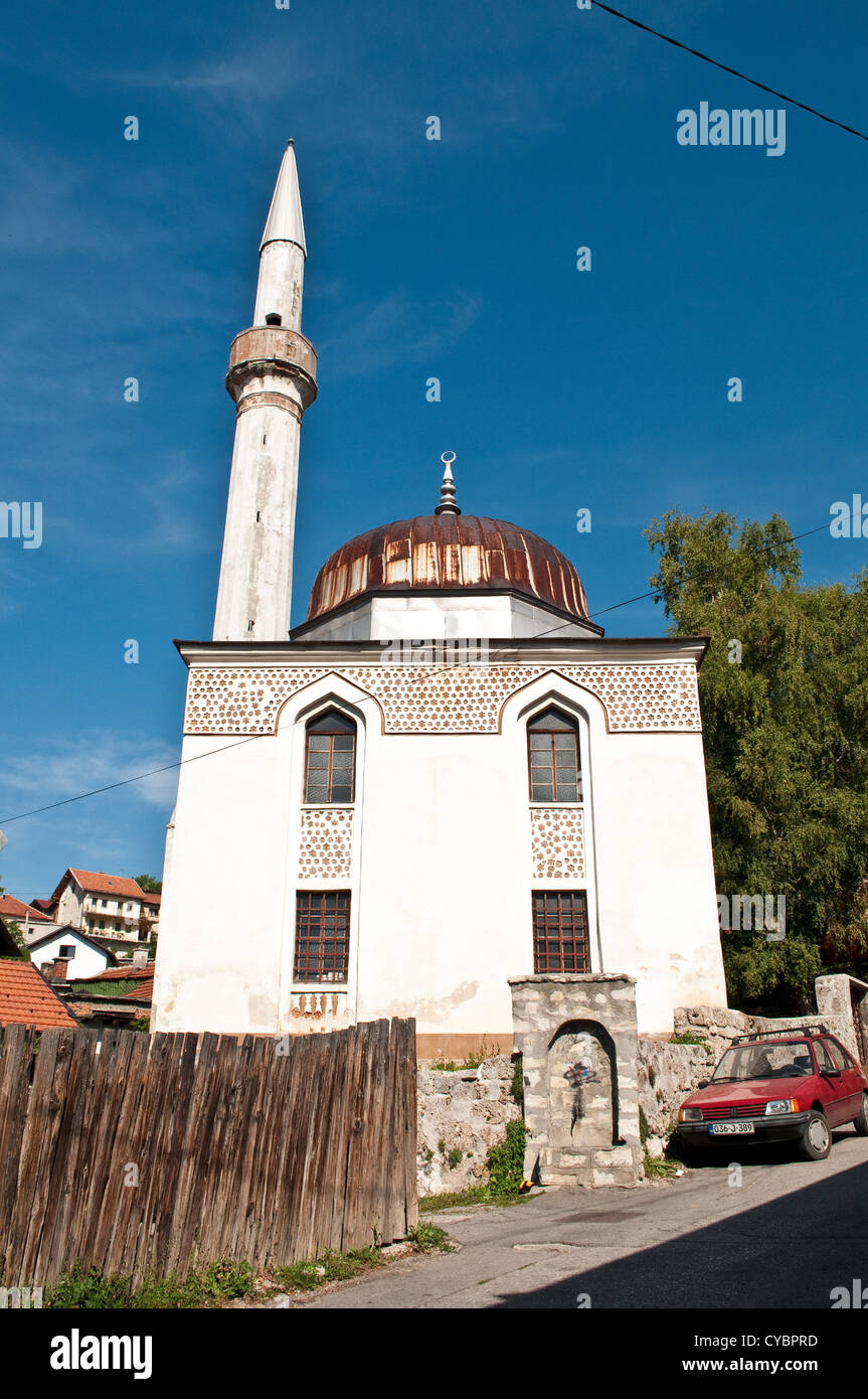 Mosque, Travnik, Bosnia and Herzegovina - Stock Image