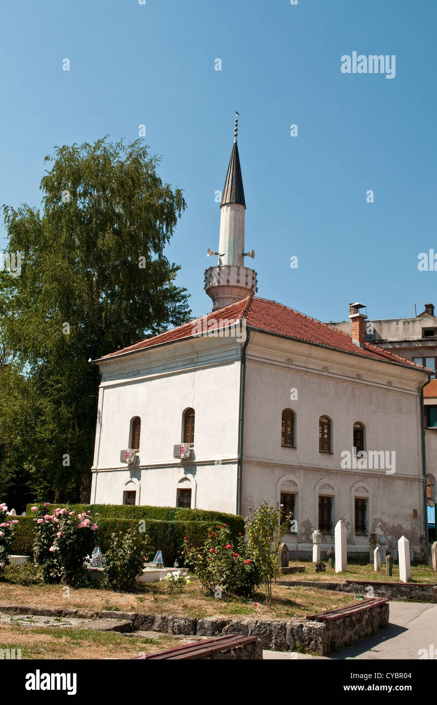 Mosque in central Travnik, Bosnia and Herzegovina - Stock Image