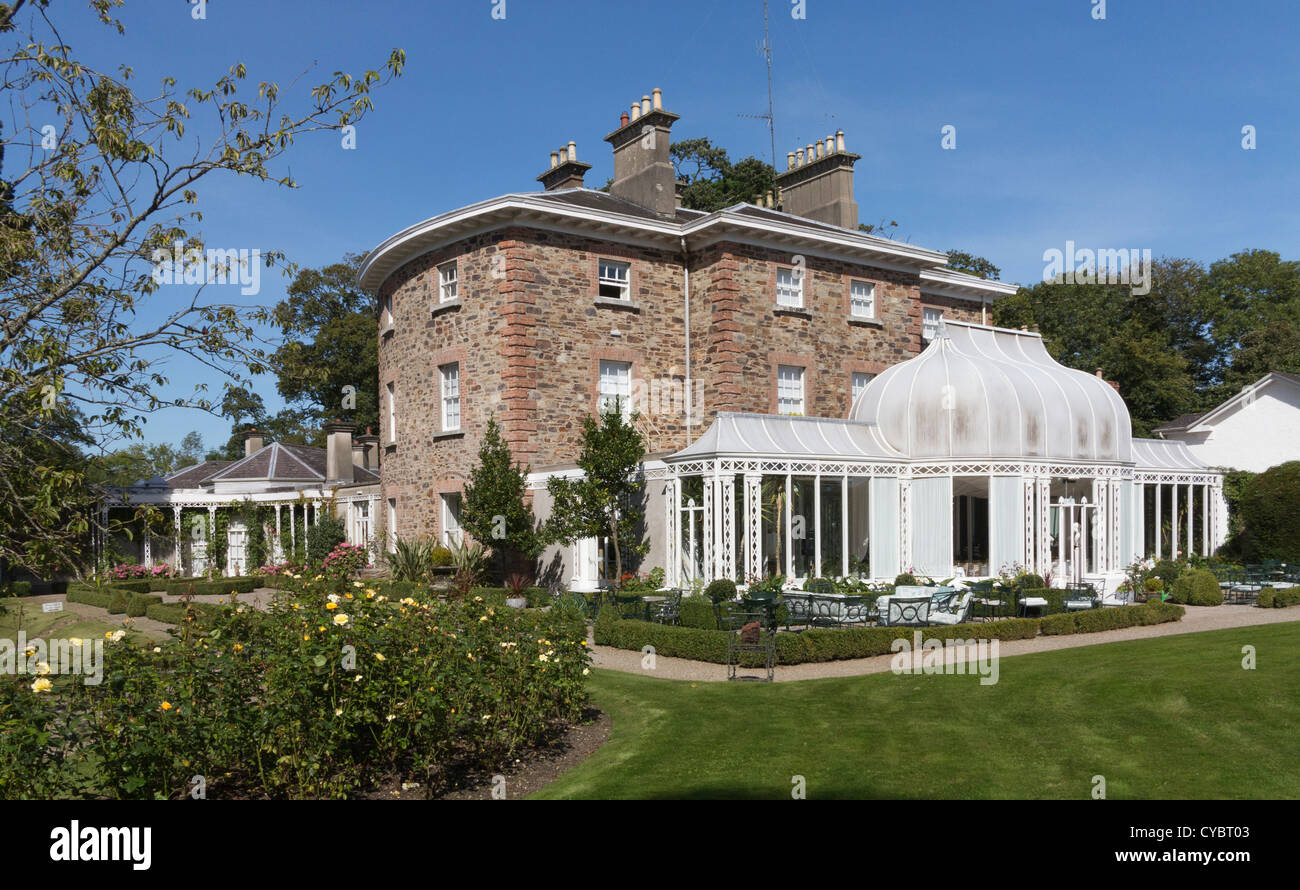 Marlfield House hotel, a luxury country house in Gorey, County Wexford, Ireland - Stock Image