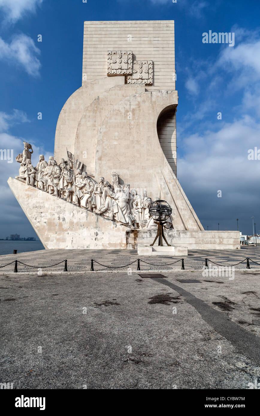 Lisboa,belem,Portugal,padrao dos descobrimentos - Stock Image
