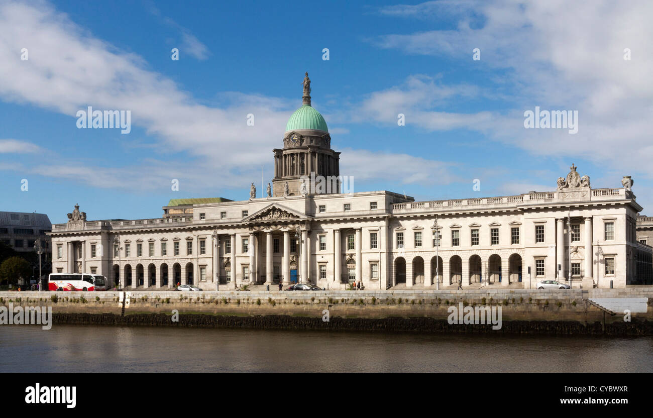 The Custom House, Dublin, Ireland - Stock Image