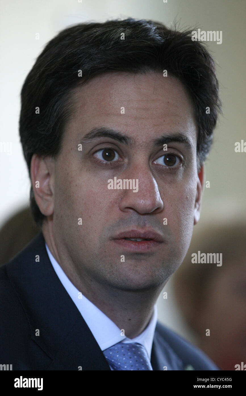 Ed Miliband Leader of the Opposition - Stock Image