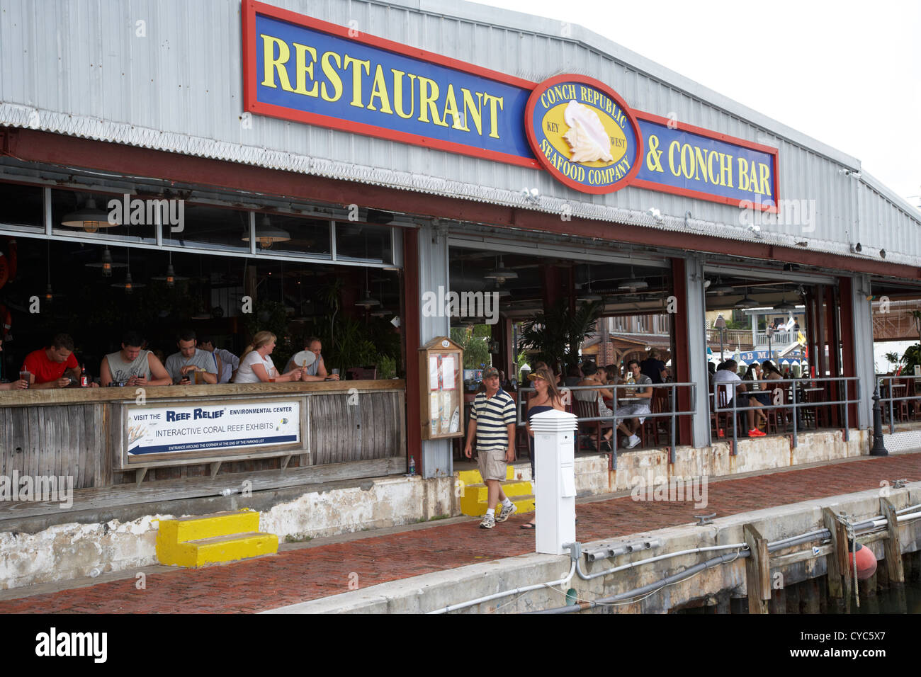 Conch Republic Seafood Company Restaurant And Conch Bar Key