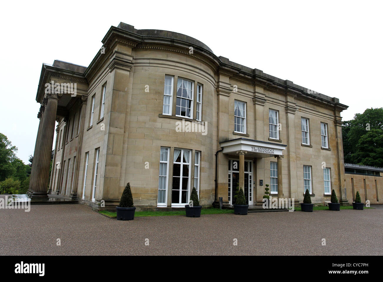 The Mansion wedding and conference venue in Roundhay Park, Leeds, West Yorkshire, UK. Stock Photo