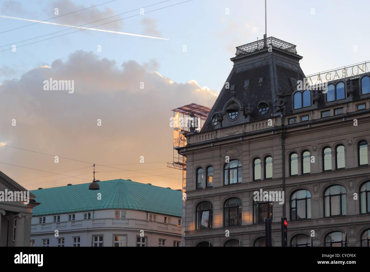 DENMARK / COPENHAGEN _ Magasin du Nord shopping store - Stock Image