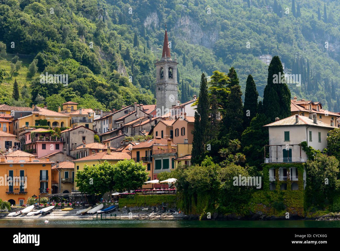 Varenna, Lake Como, Italy, Europe - Stock Image