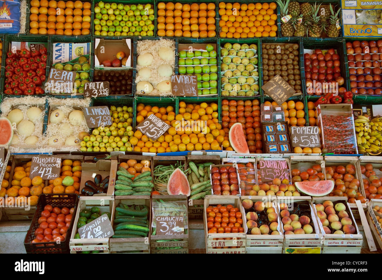The greengrocery - Stock Image