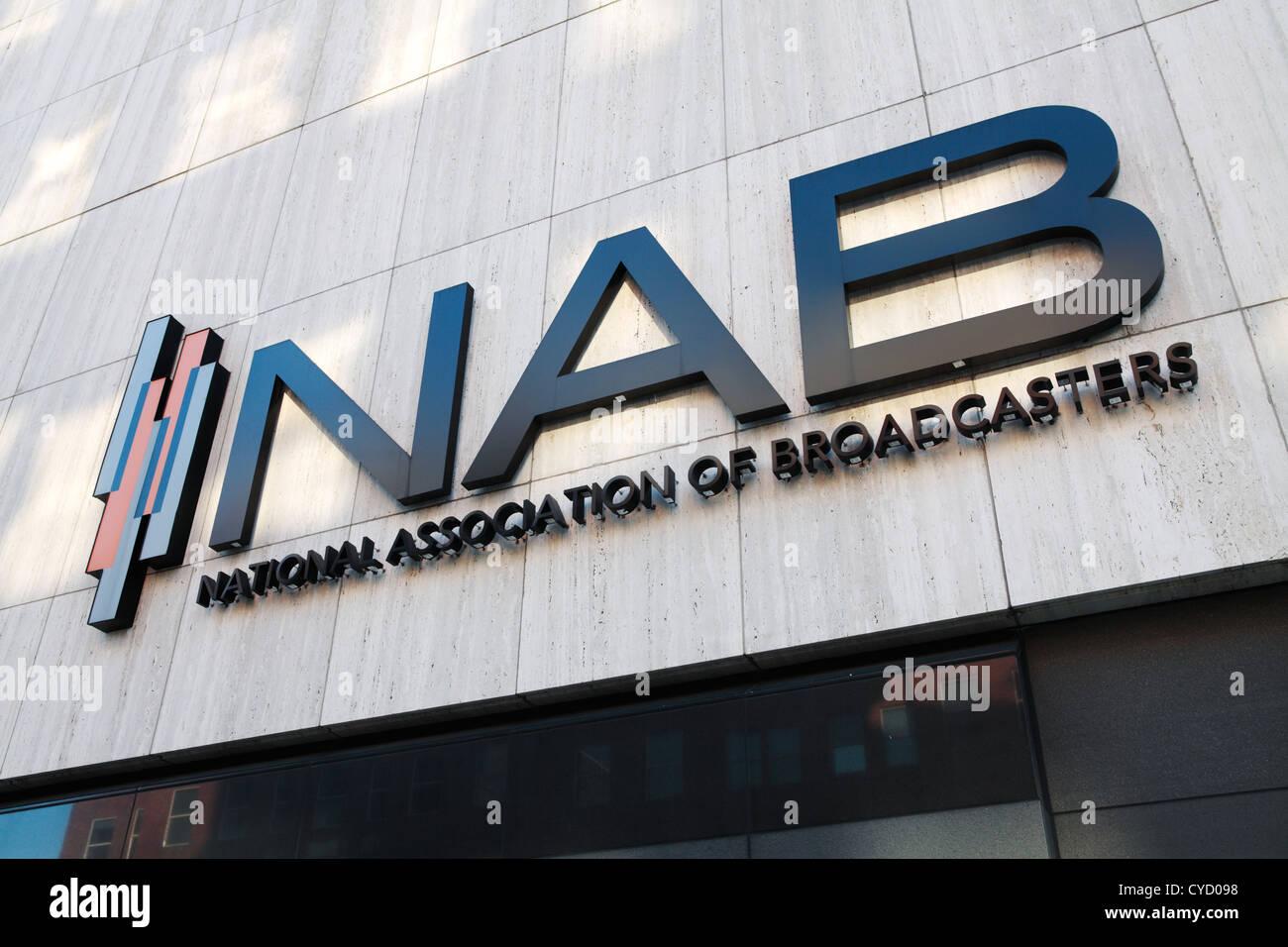 National association of broadcasters, Washington, USA Stock Photo