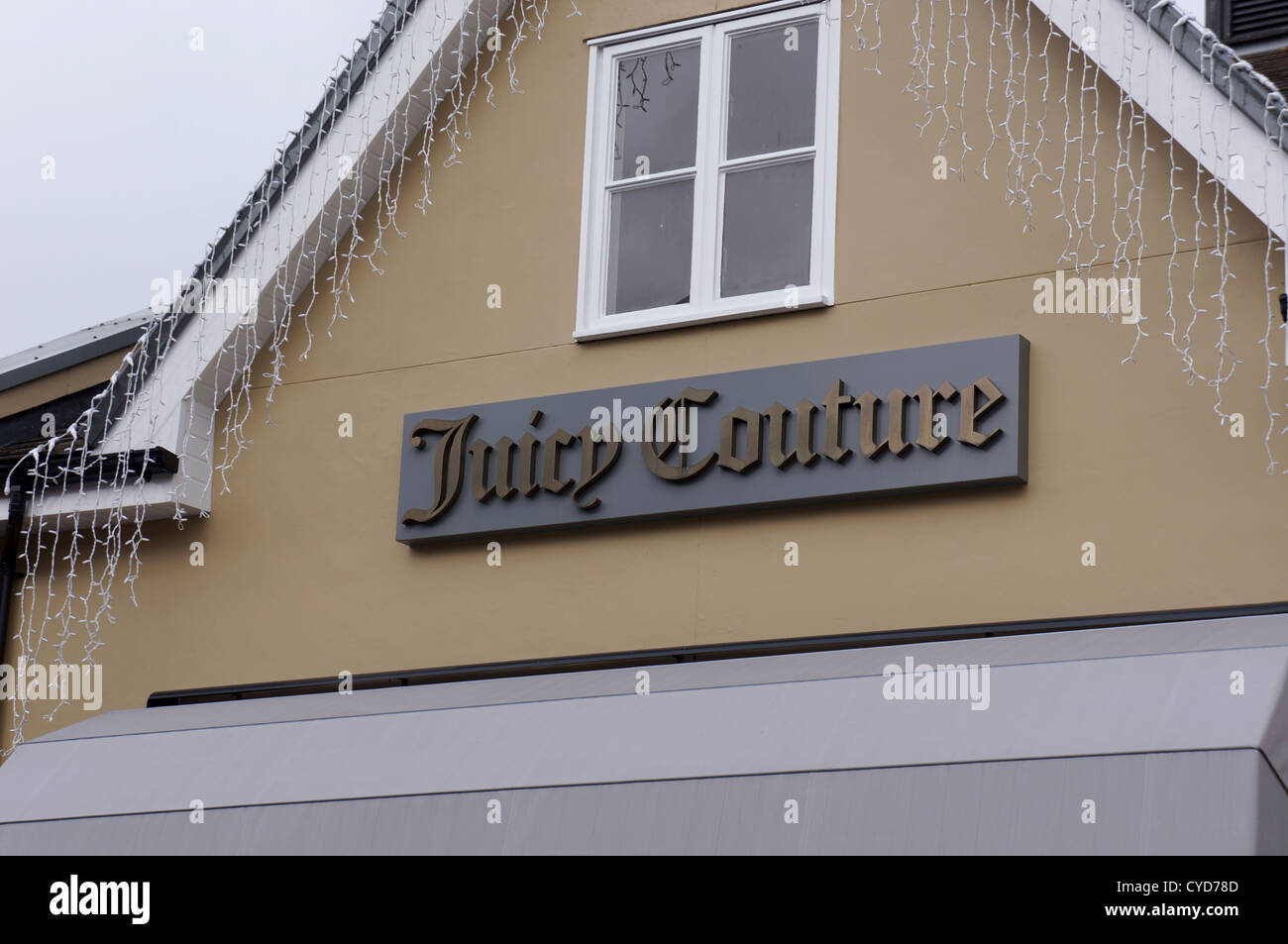 juicy couture shop in bicester village, uk - Stock Image