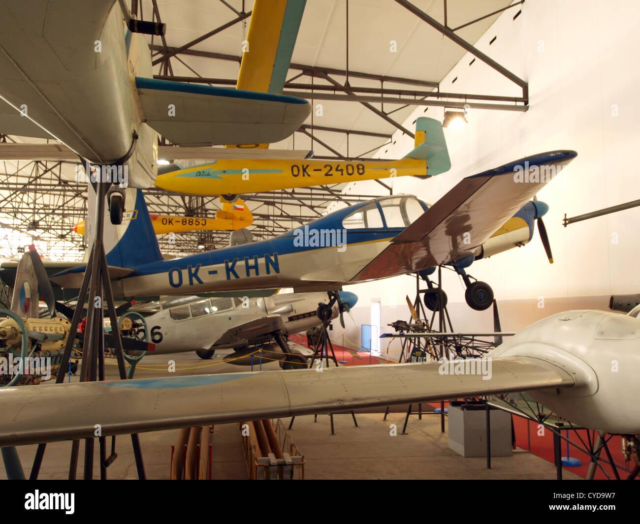 Orlican L-40 Meta Sokol OK-KHN - Stock Image