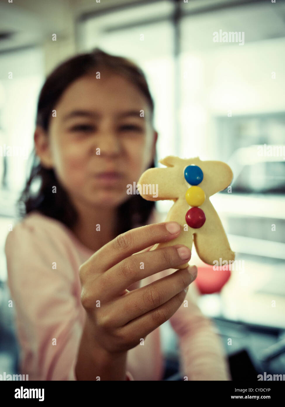 Cookie monster: 'I ate its head' - Stock Image