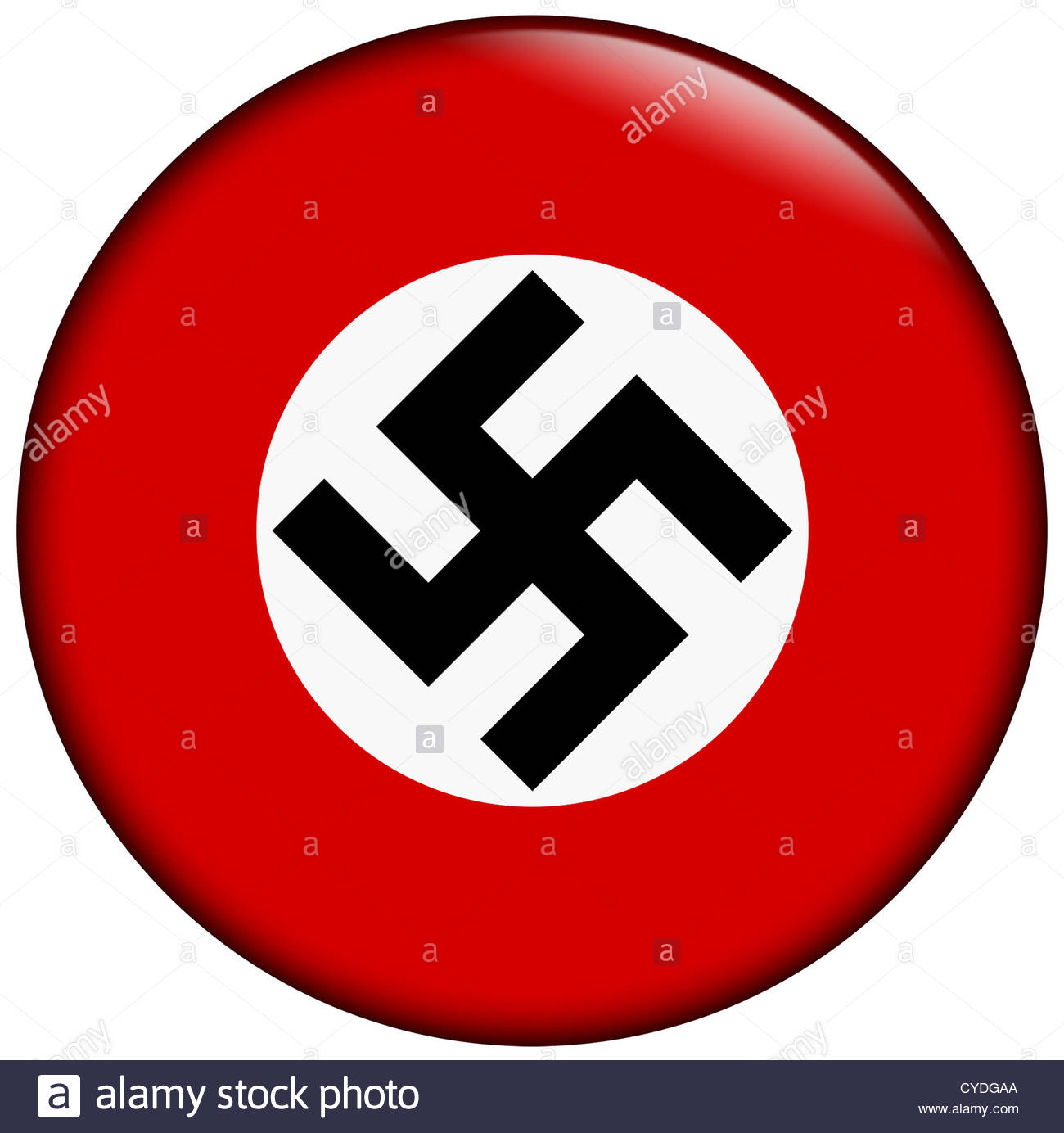 Nazi Badge - Stock Image