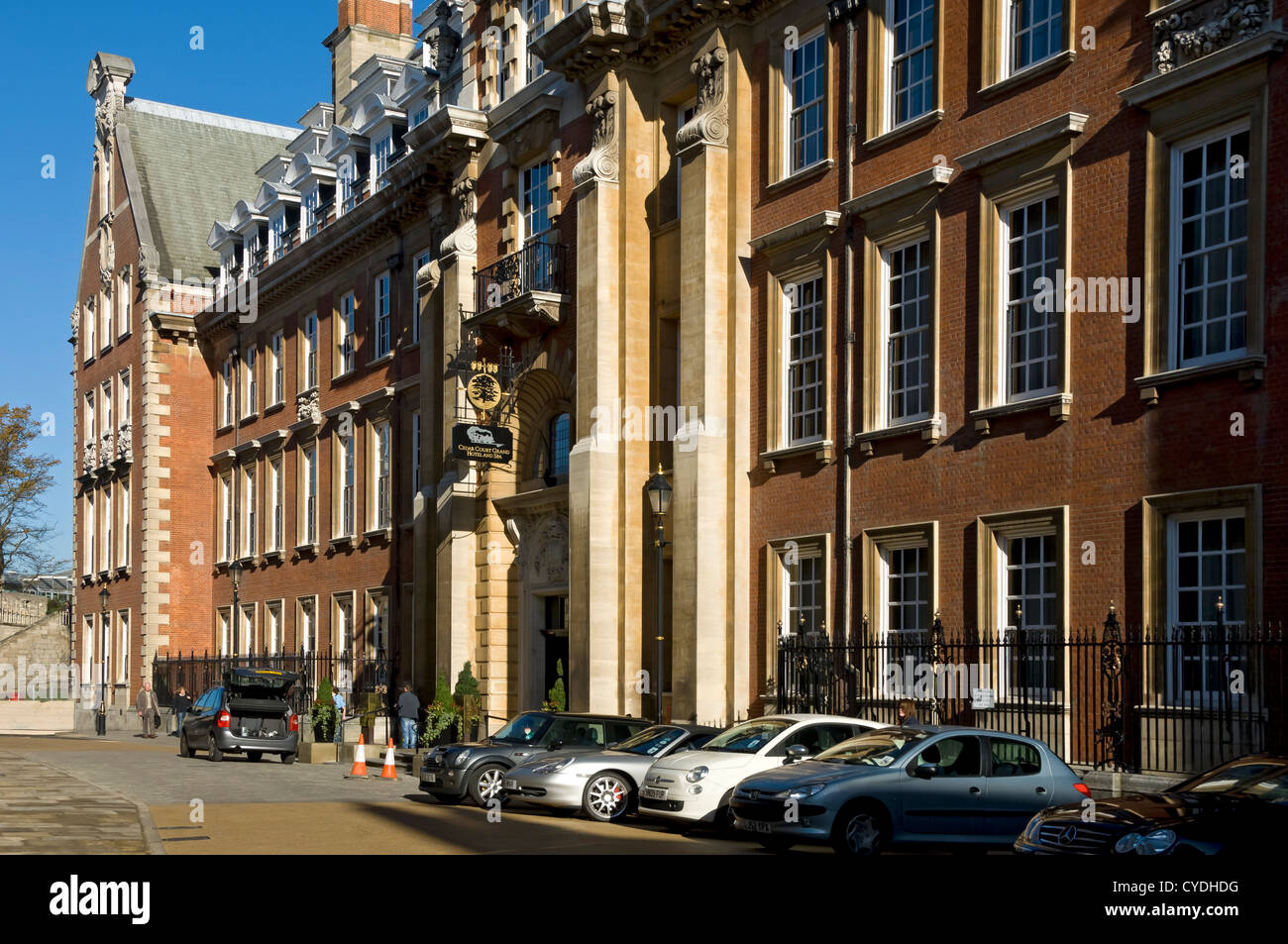 The Grand Hotel and Spa York North Yorkshire England UK United Kingdom GB Great Britain - Stock Image