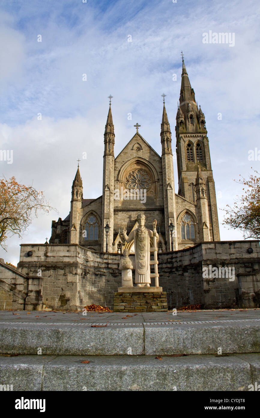 St. Macartan's Cathedral, Monaghan, Ireland. - Stock Image