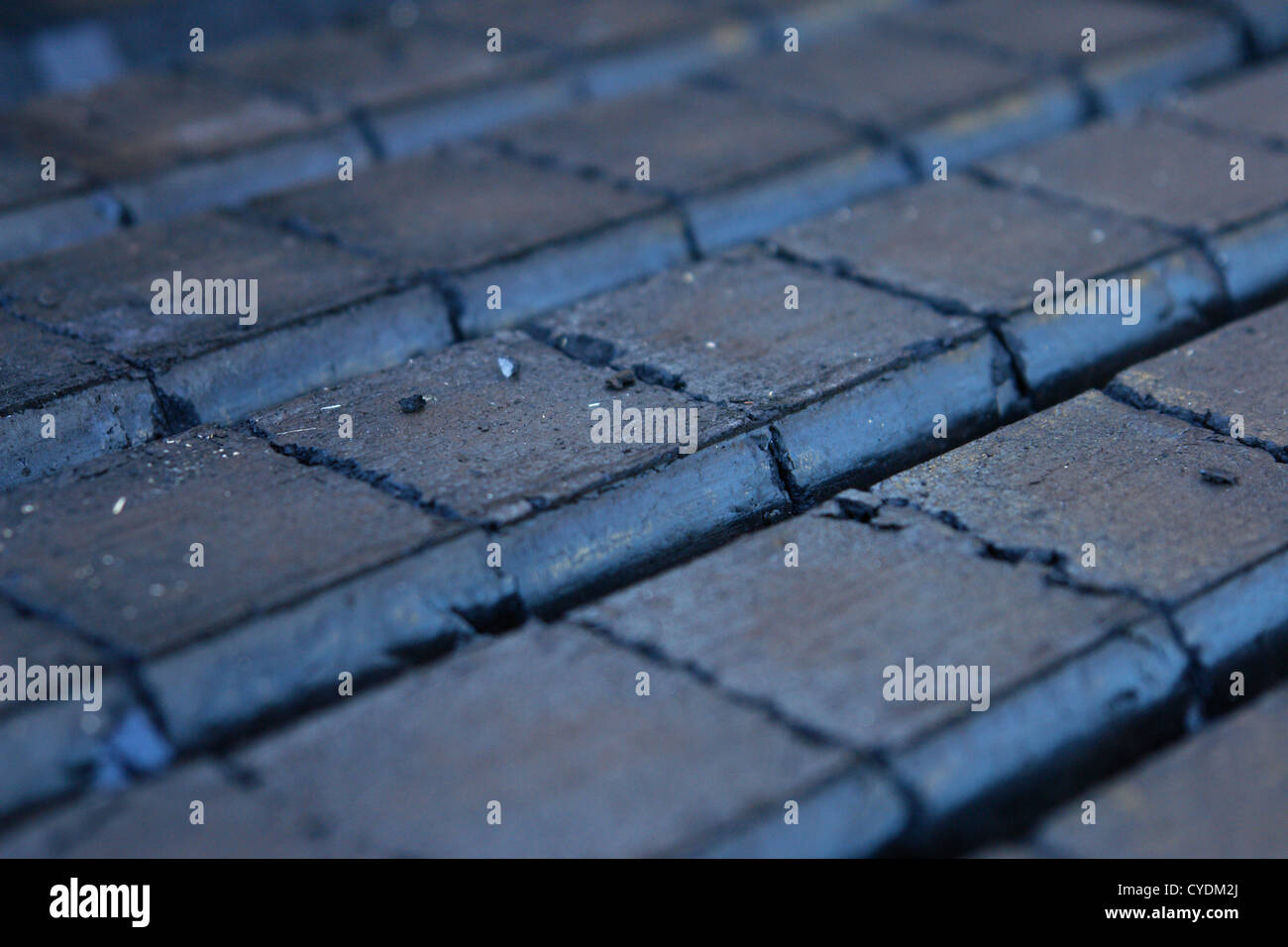 close-up of a lot of charcoal Stock Photo