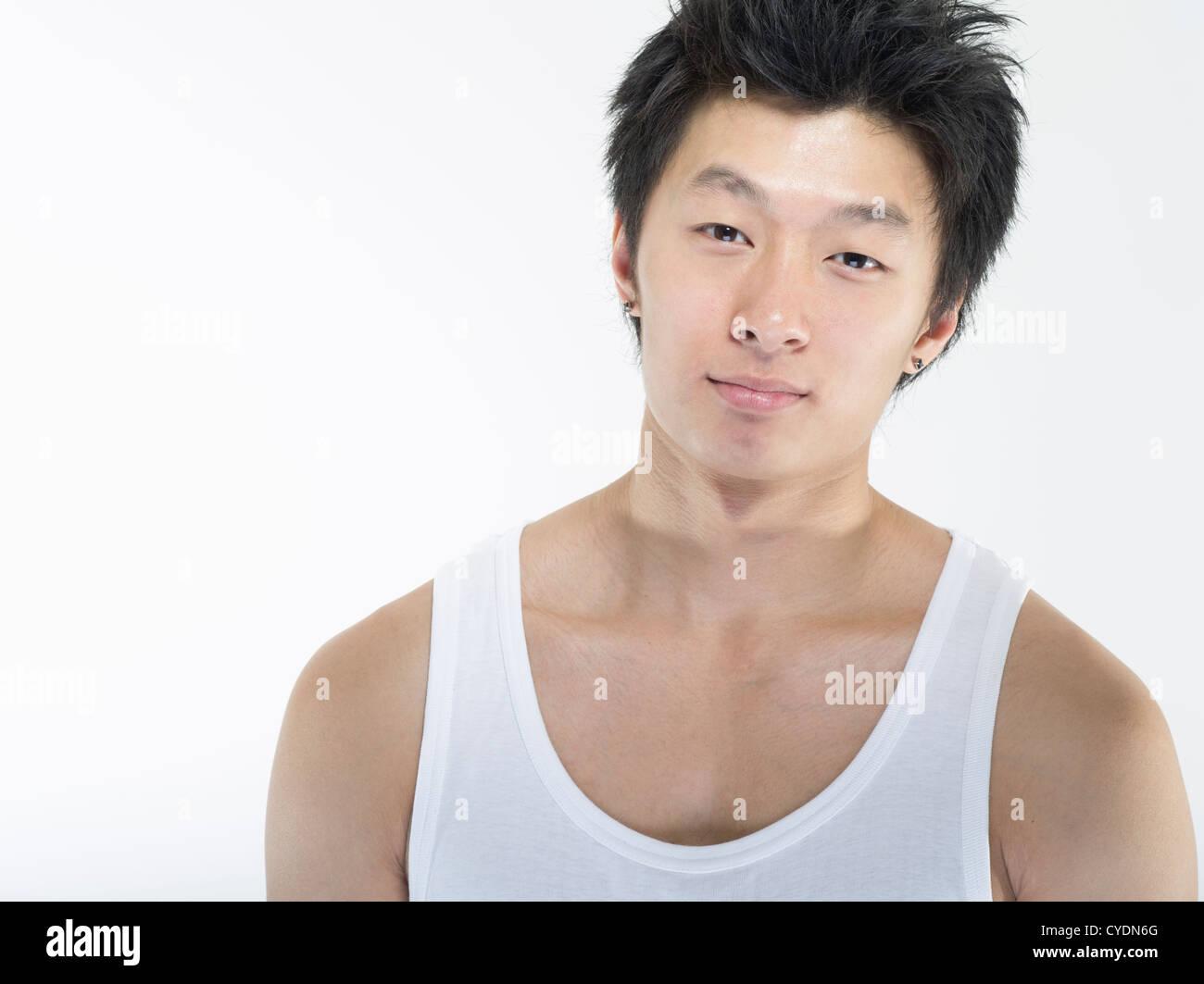 Asian male white