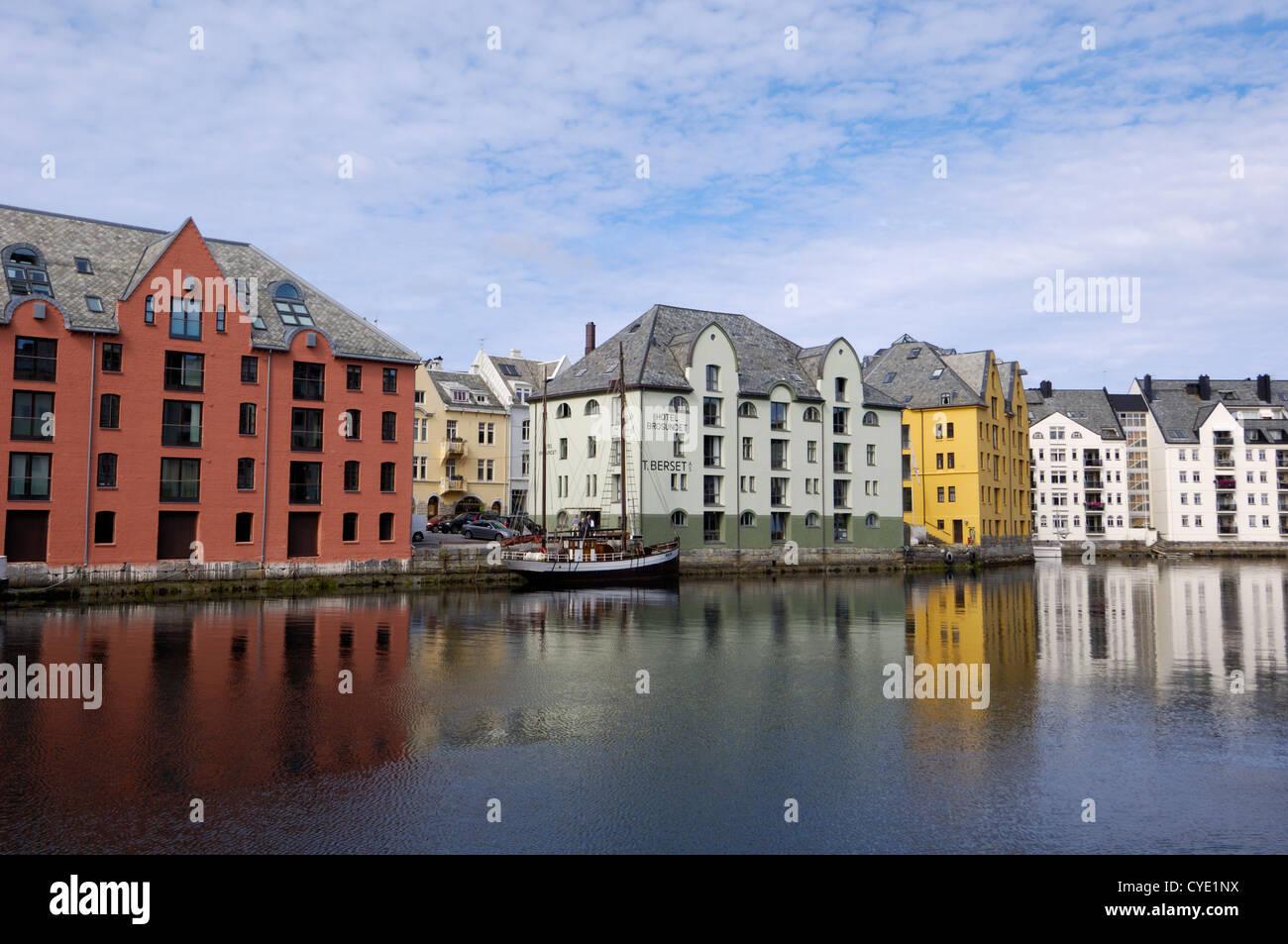 Alesund, More og Romsdal, Norway Stock Photo
