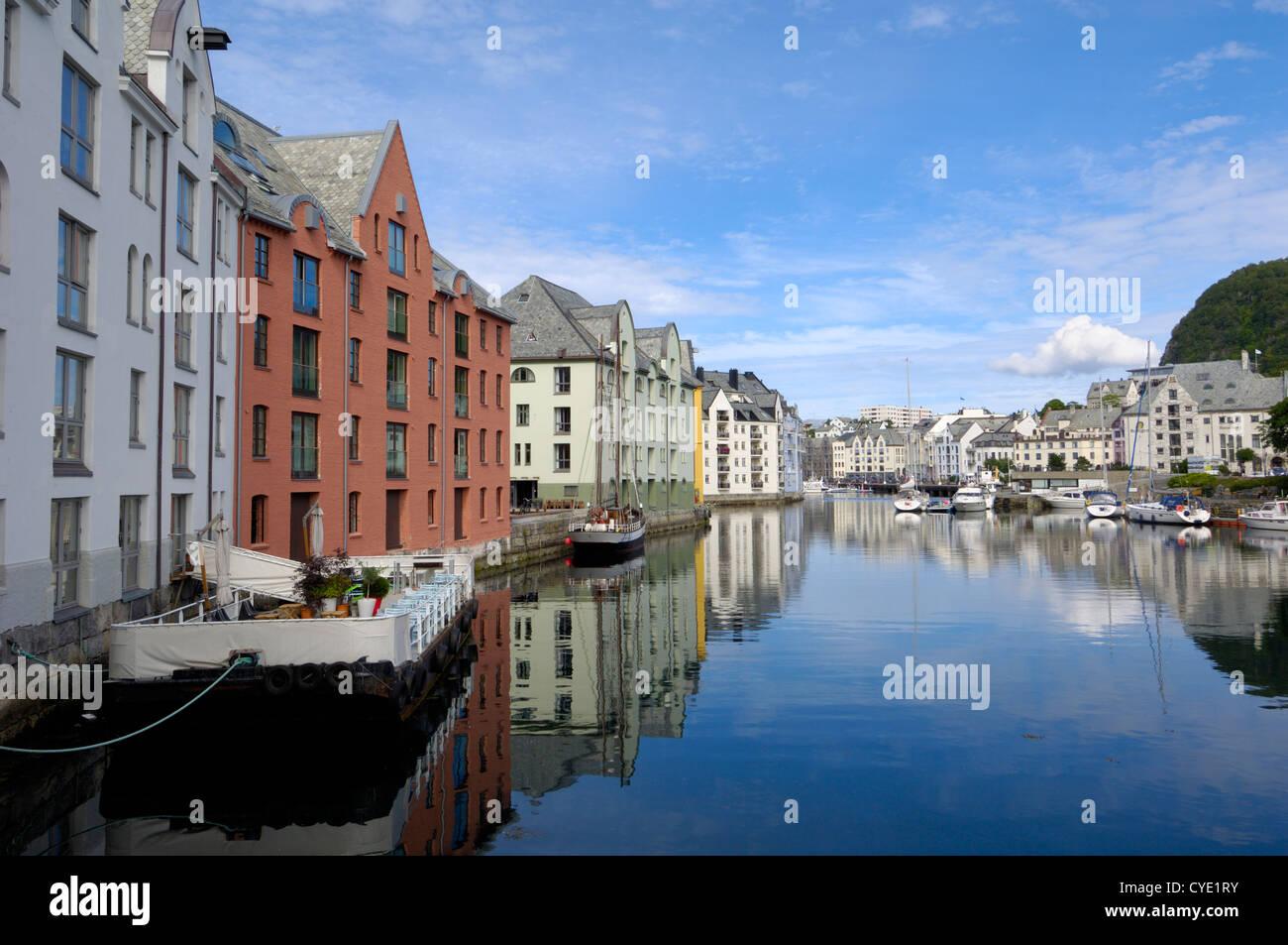 Alesund, More og Romsdal, Norway - Stock Image