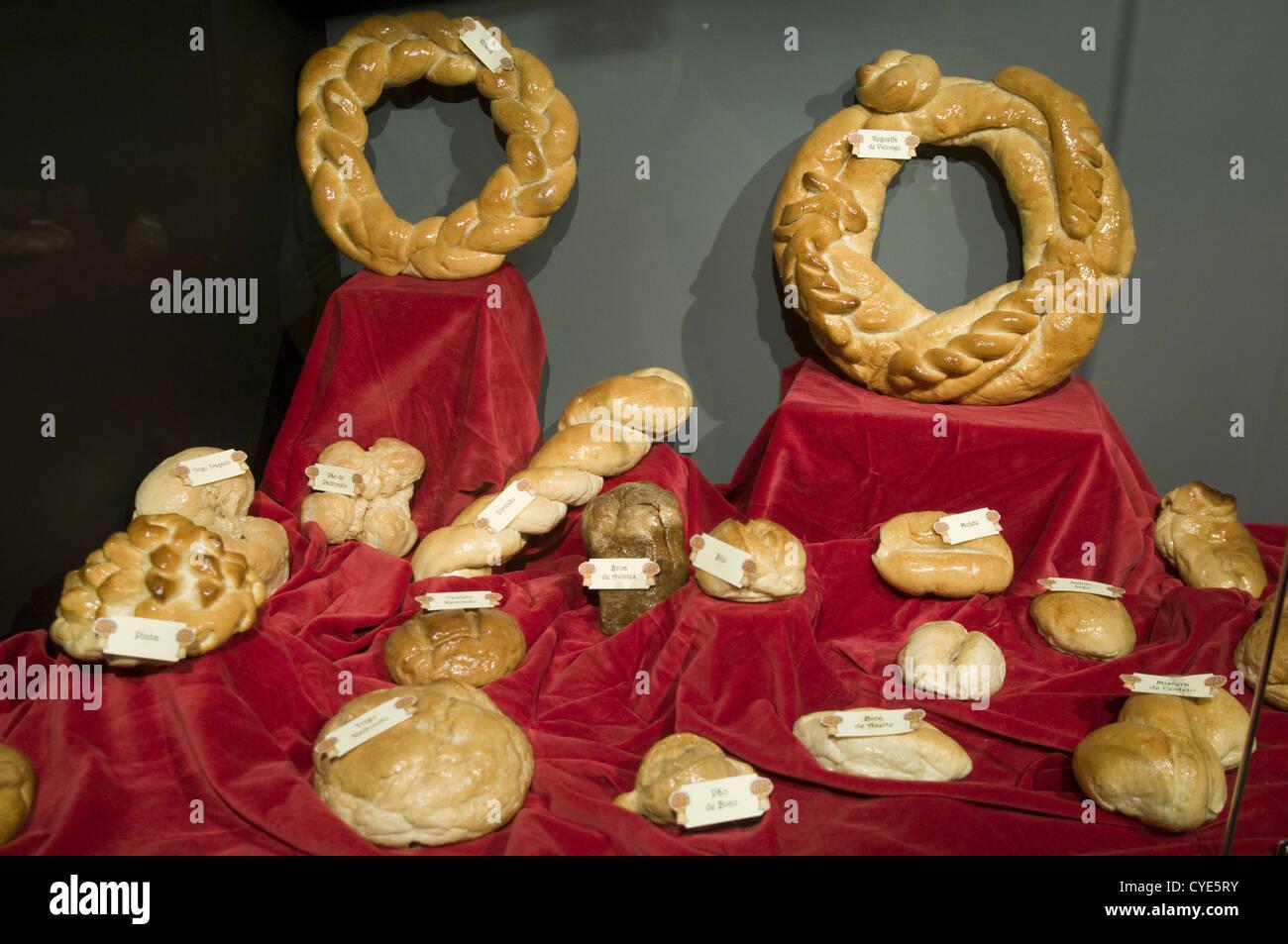 Bread Museum, in Seia, Portugal (Museu do Pão) - Stock Image
