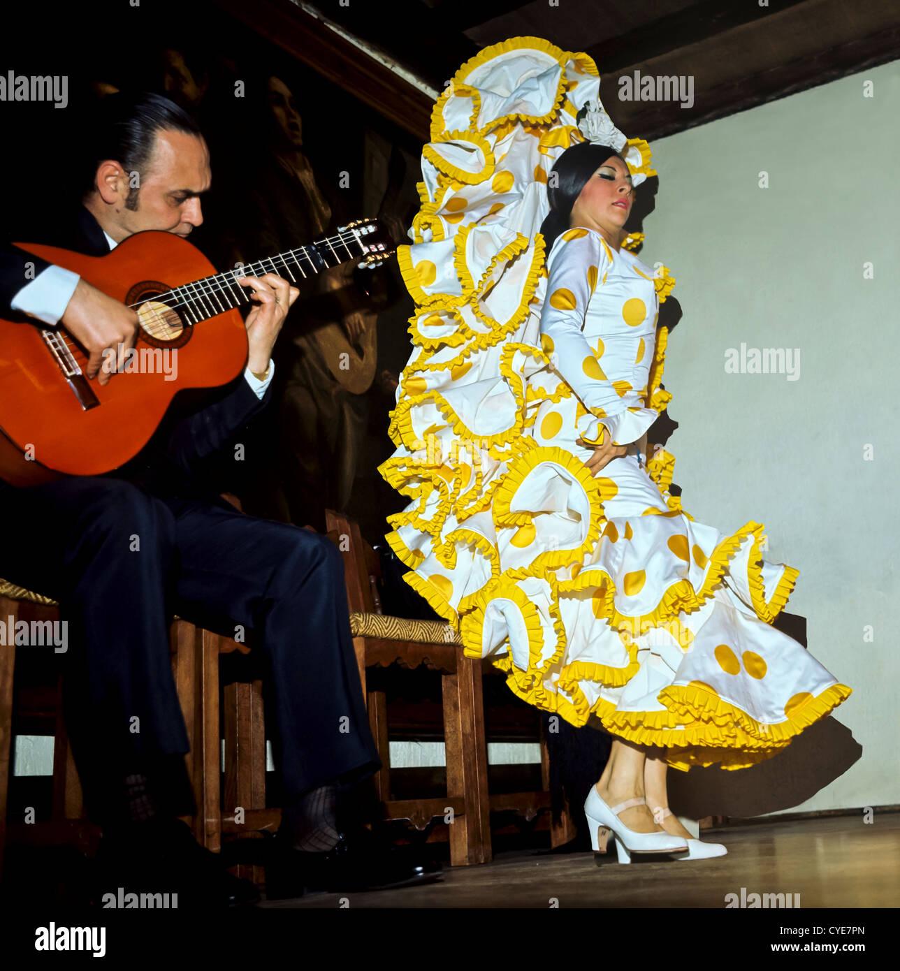 8335. Flamenco Dancer, Seville, Spain, Europe - Stock Image