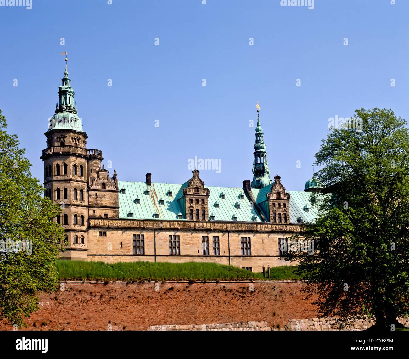 8346. Hamlet's Castle, Elsinore, Denmark, Europe - Stock Image