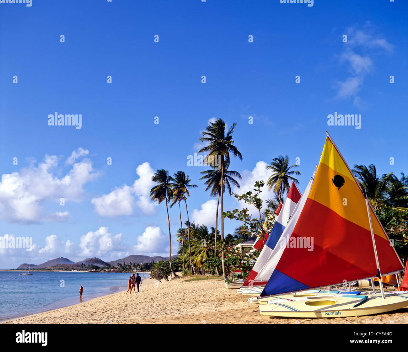 8381. Rodney Bay, St Lucia, Caribbean, West Indies - Stock Image