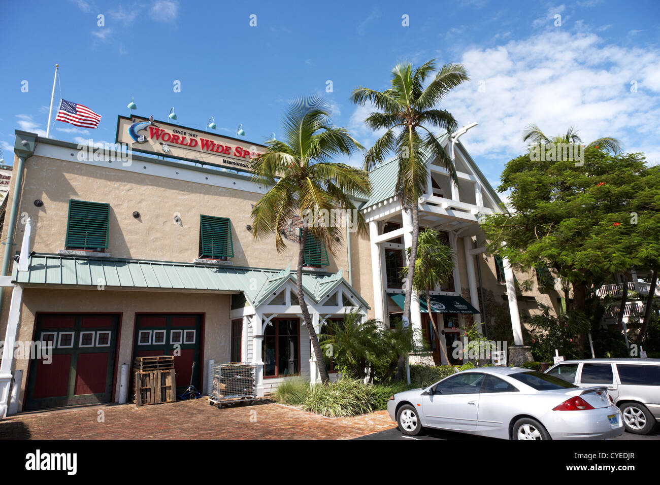 world wide sportsman bass pro shop fishing store islamorada florida keys usa - Stock Image