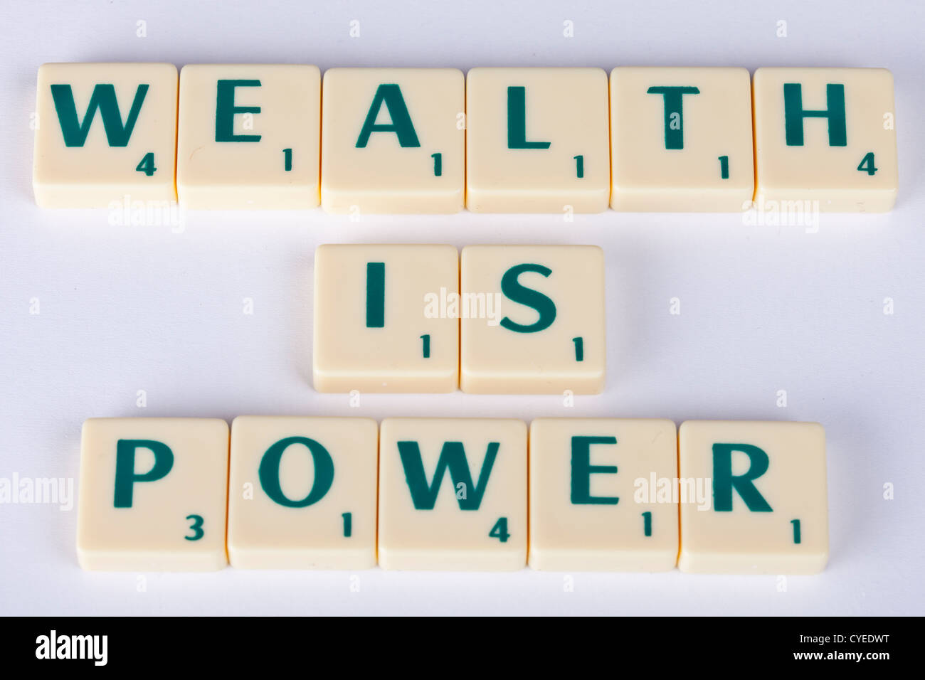 "wealth is power"" & ""money is power"" symbolic of how the rich are ..."