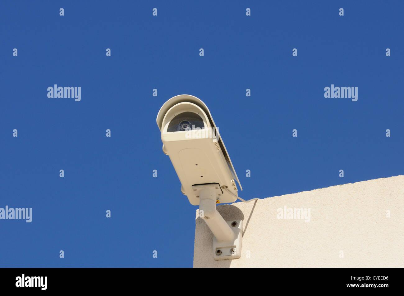 Security concept, selective focus on nearest - Stock Image