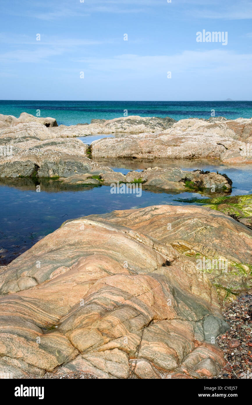 Shoreline, Iona, Scotland, UK - Stock Image