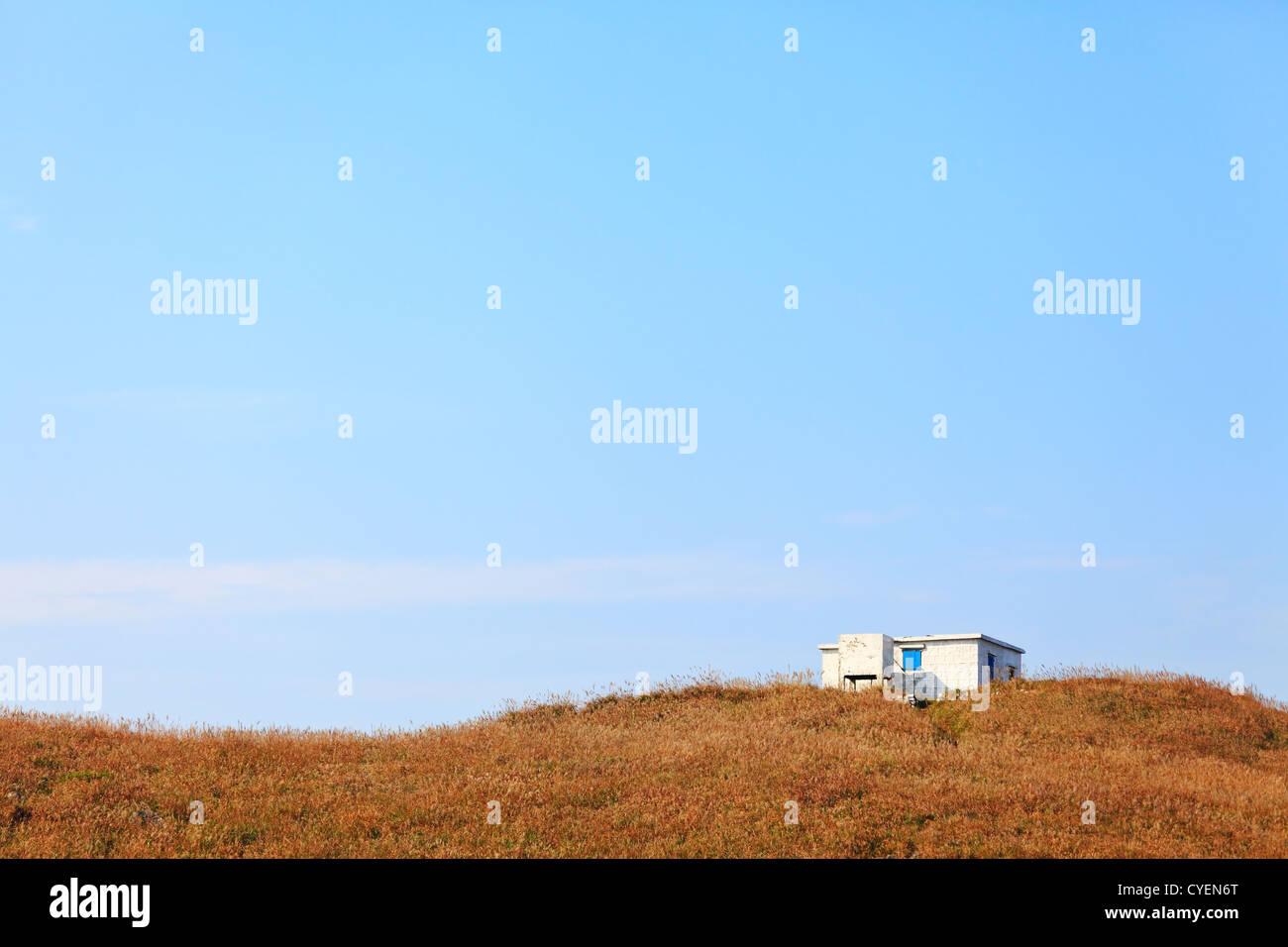 alone house - Stock Image