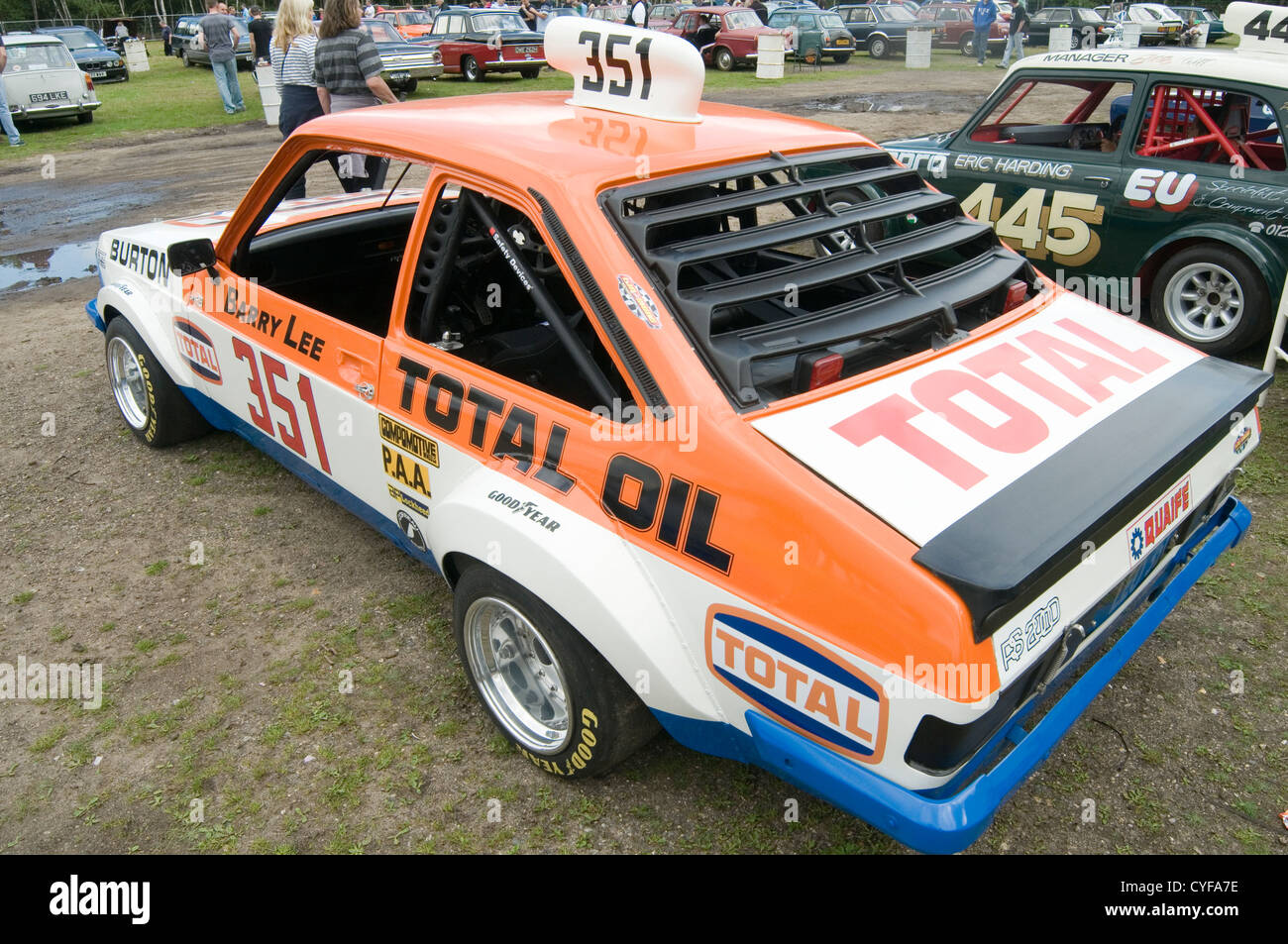 mk2 ford escort rs 2000 classic hot rod barry lee driver race racing ...