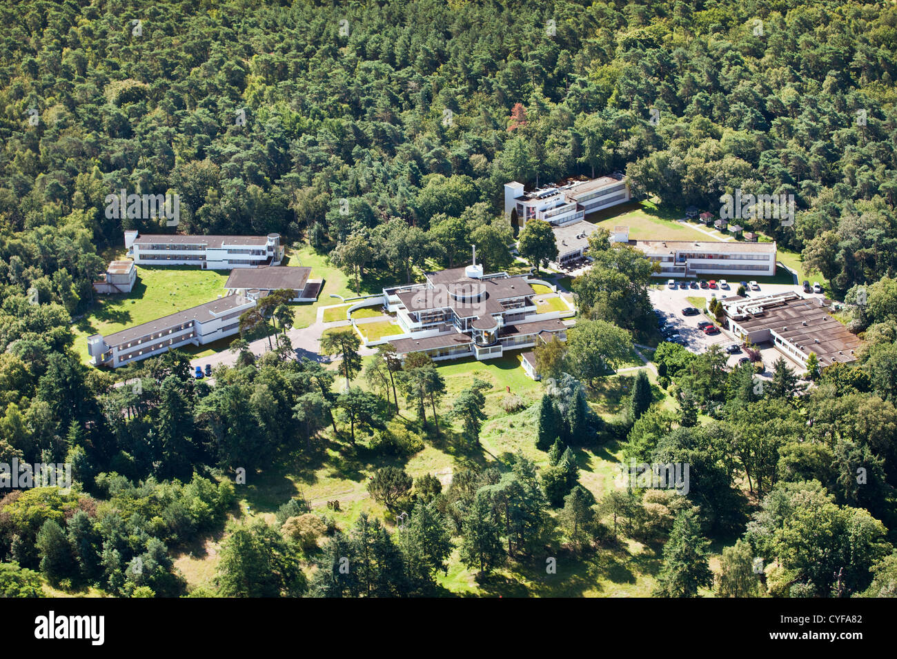 Netherlands, Hilversum, Estate Zonnestraal, a former sanatorium. On the tentative list of UNESCO list of World Heritage - Stock Image