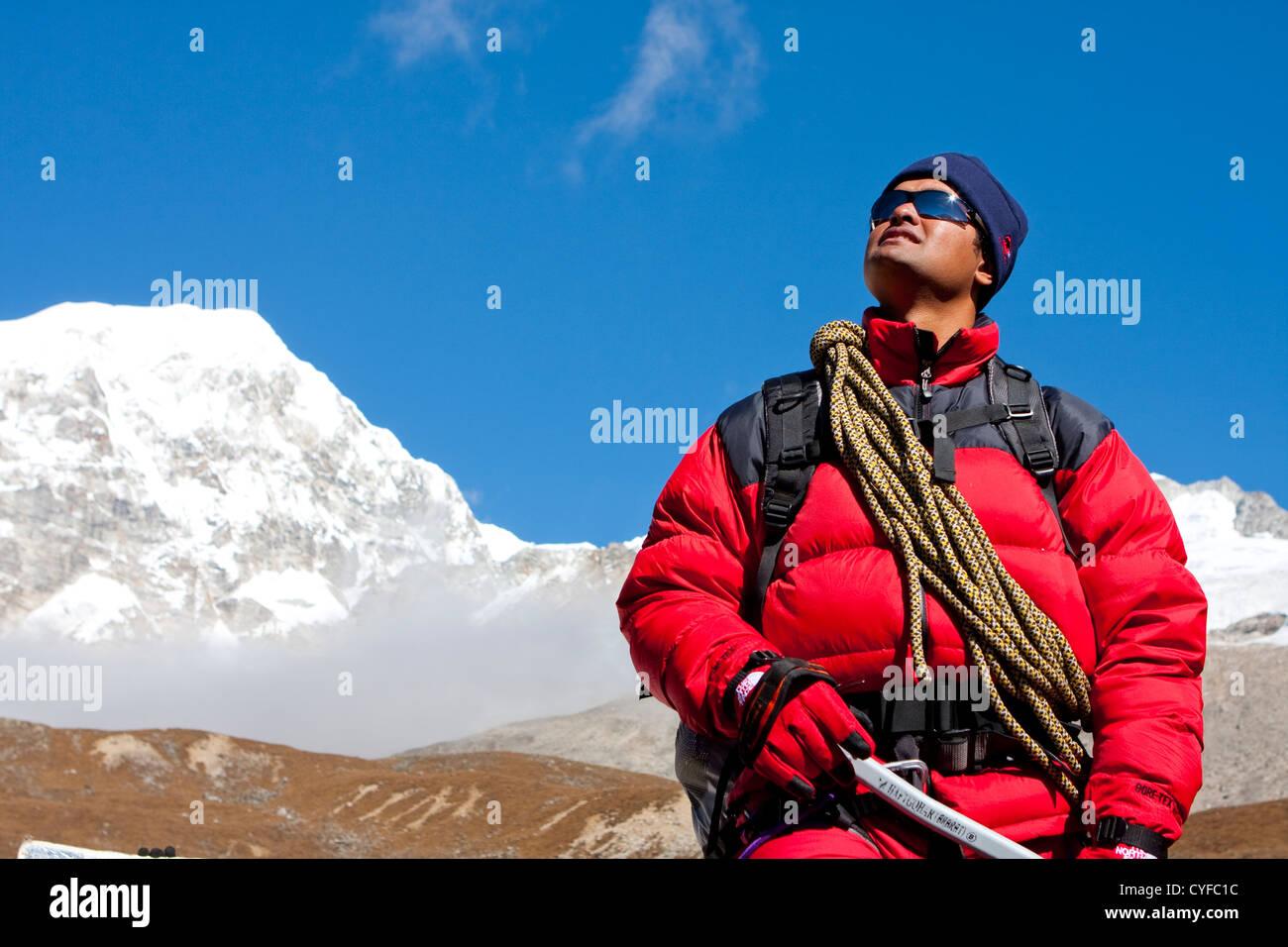 Mount Everest, Nepal - Stock Image