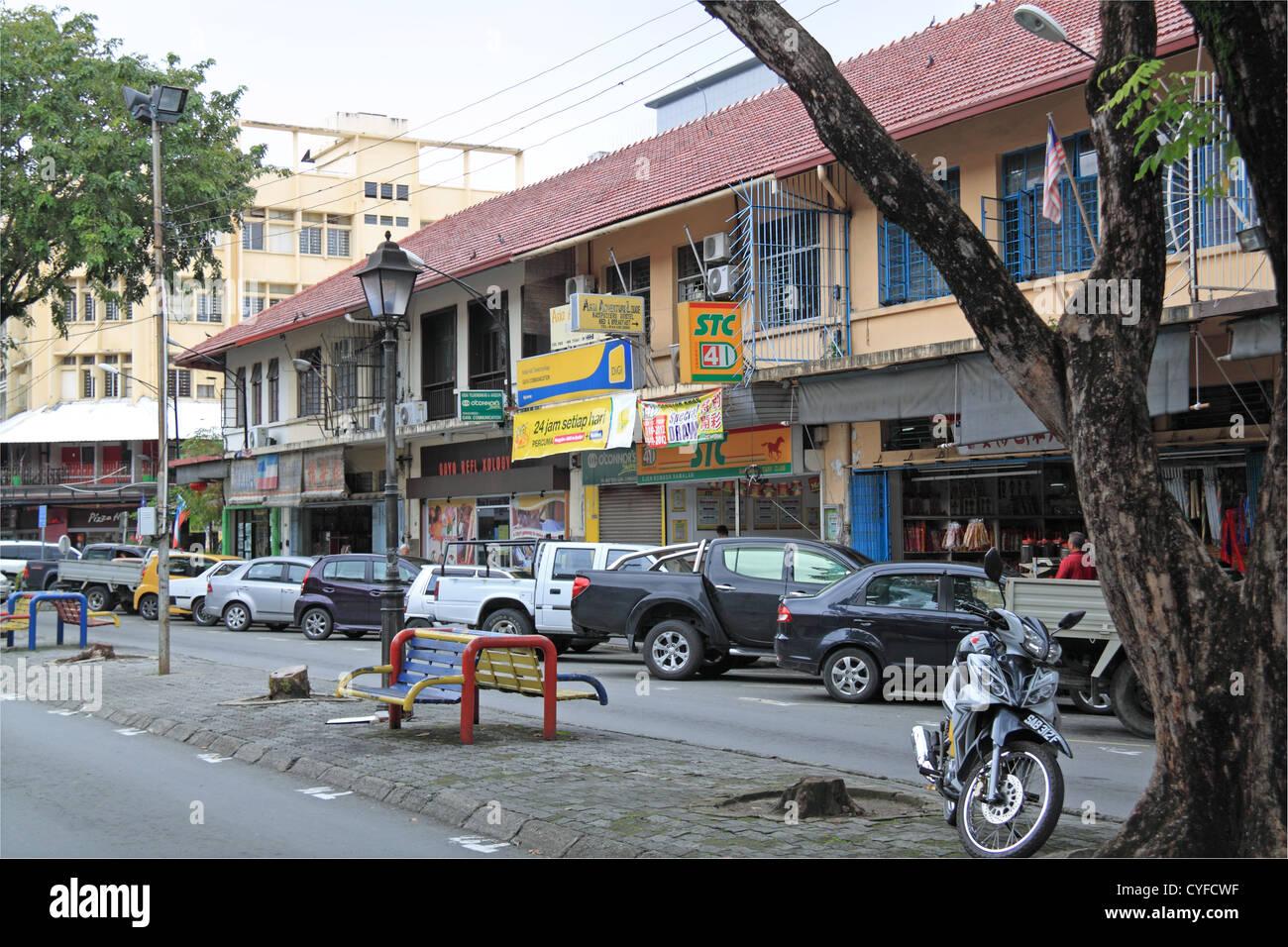 Julan Gaya (Gaya Street), Kota Kinabalu, Sabah, Borneo, Malaysia, Southeast Asia - Stock Image