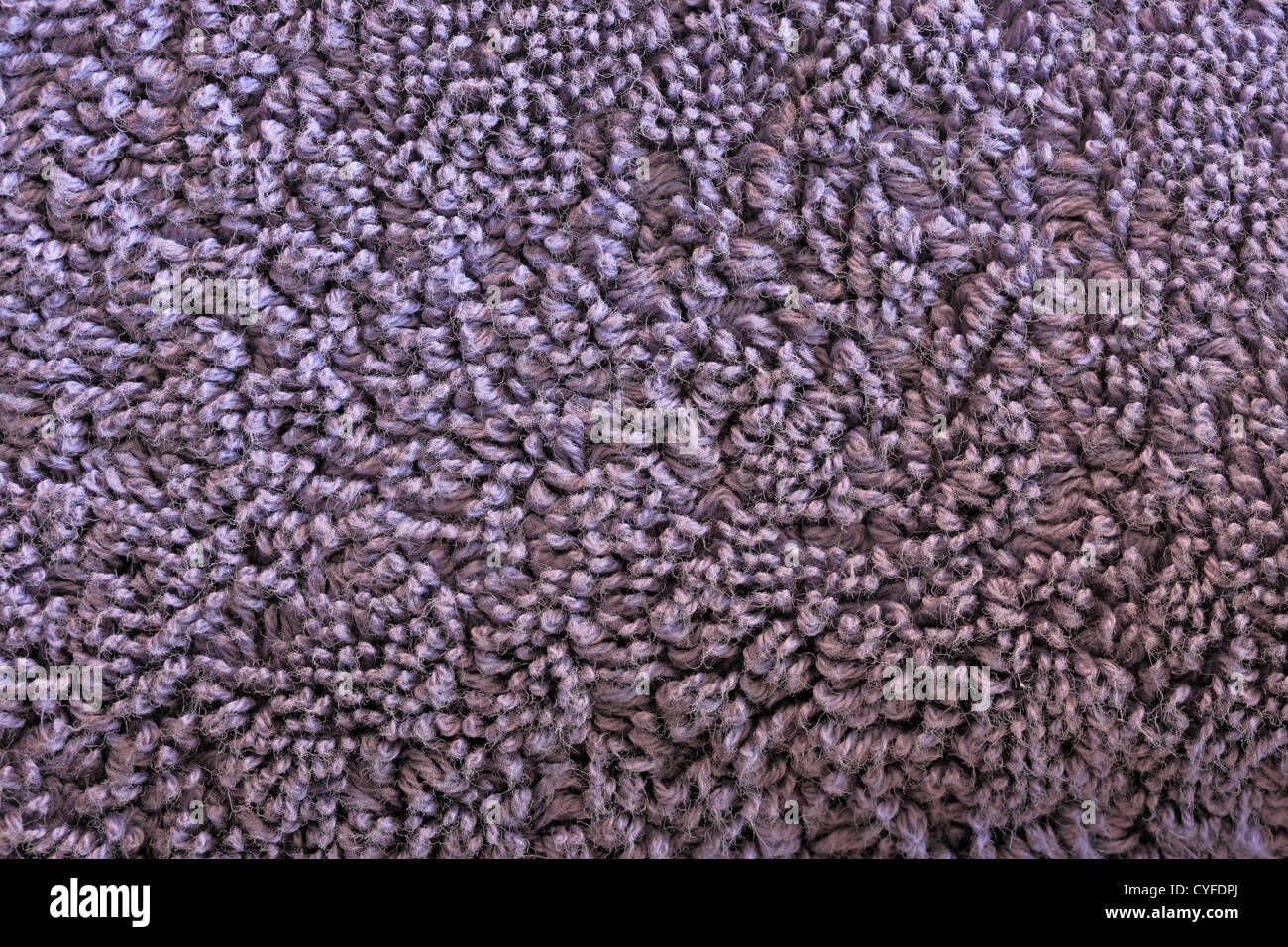 Towelling Texture Stock Photo