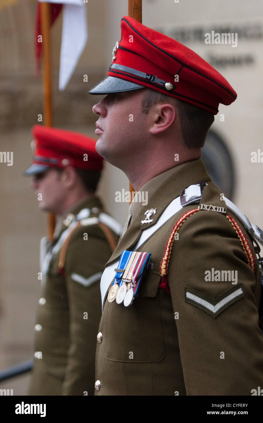 Saturday 3rd November 2012, Northampton, UK. The 9th/12th Royal Lancers Regiment, (a Cavalry Regiment) based at - Stock Image