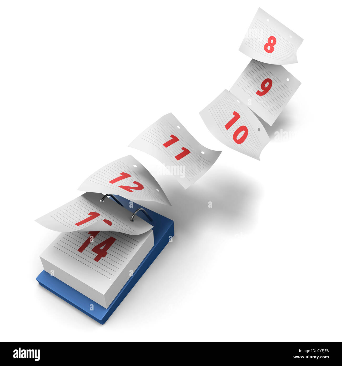 https://c8.alamy.com/comp/CYFJE8/desktop-calendar-showing-how-7-days-fly-by-on-white-background-without-CYFJE8.jpg