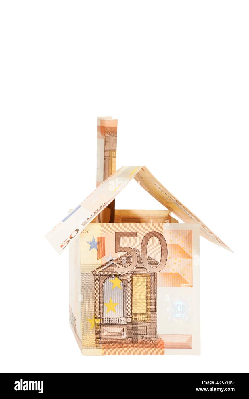 Euro real estate - Stock Image