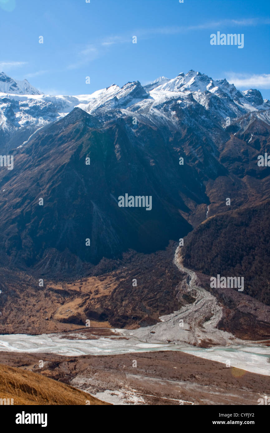 Mount Everest, Nepal - Stock Image