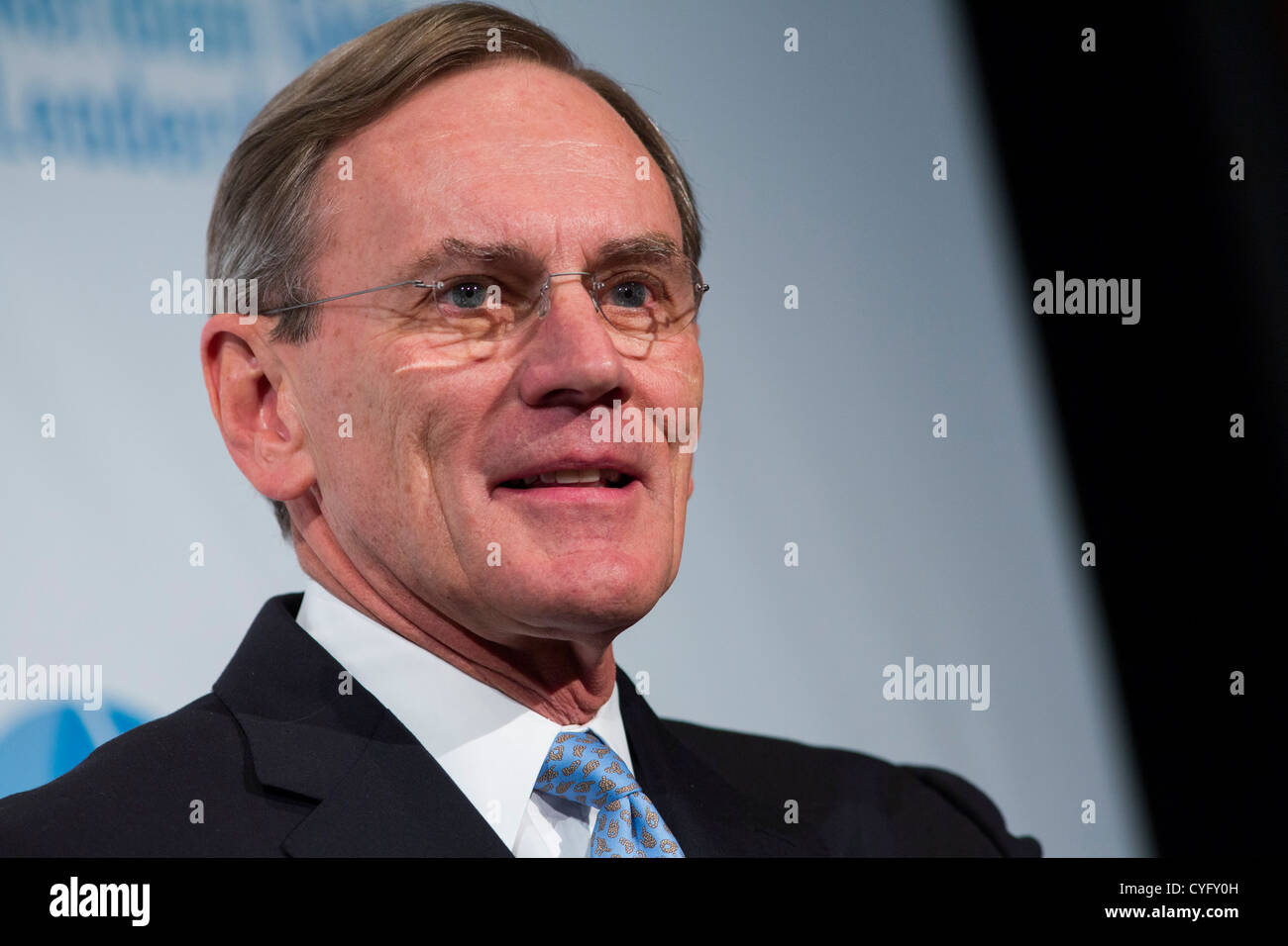 Jay Johnson, Chairman and CEO of General Dynamics Corportation.  - Stock Image