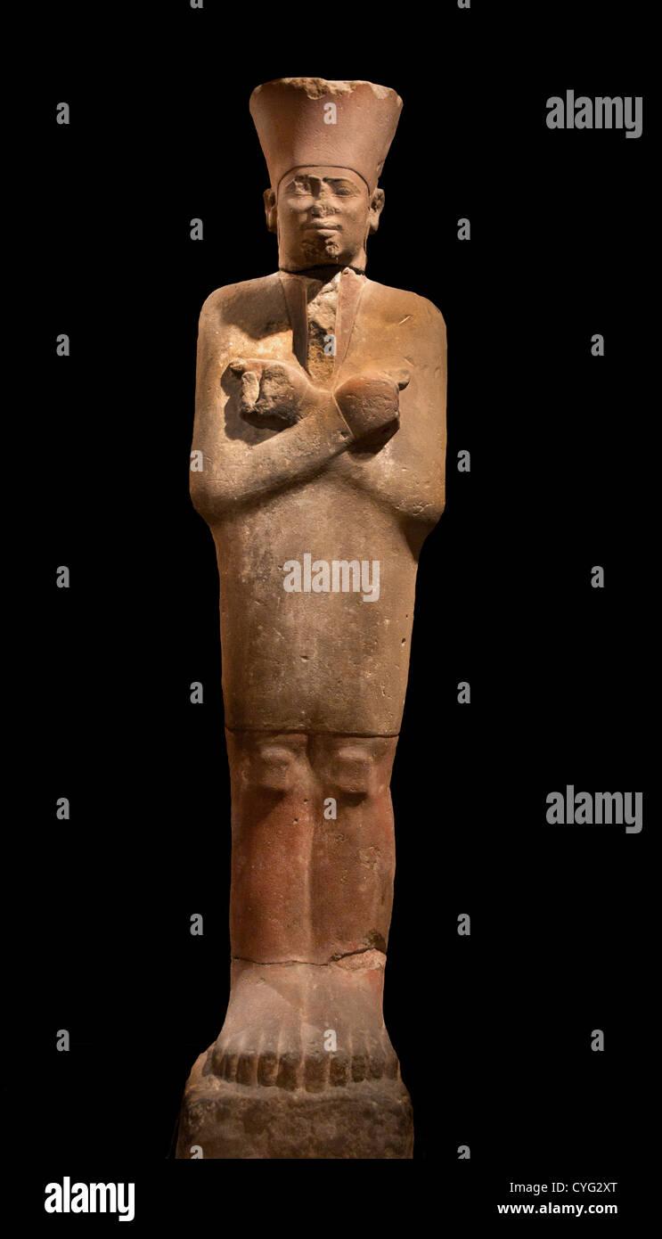 King Mentuhotep II in the Jubilee Garment Middle Kingdom  Dynasty 11  2051–2000  Egypt Deir el Bahri - Stock Image
